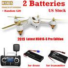Hubsan H501SS Pro X4 FPV Drone Brushless 1080P GPS RTH White RC Quadcopter RTF