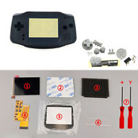 10 Levels IPS Backlight LCD Screen+ Pre-cut Case For GBA GameBoy Advance Console