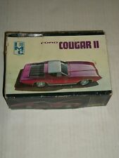 Vintage IMC FORD COUGAR II 1/25 Scale Model Kit USED