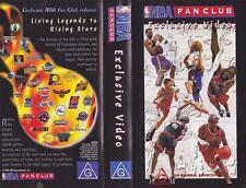 BASKETBALL NBA FAN CLUB A RARE FIND~VHS VIDEO PAL~A RARE FIND