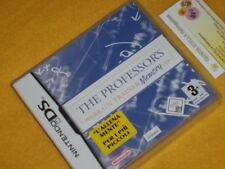 THE PROFESSOR'S BRAIN TRAINER MEMORY Nintendo DS NUOVO SIGILLATO  ITALIANO 3DS