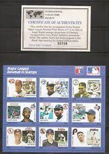 Grenada. Major League Baseball In Stamps. Three Miniature Sheets . MNH