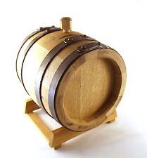 BOTTE in legno per ACETO- ACETIERA da 8 litri ROVERE ARTIGIANALE