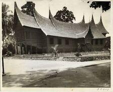 SUMATRA FINE, MODERN MINANGKABAU HOUSE PHOTO