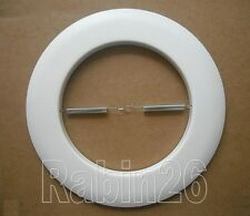 "6"" INCH RECESSED CAN LIGHT 401P OPEN TRIM RING R40 PAR38 WHITE"