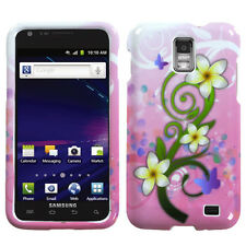 AT&T SAMSUNG GALAXY S2 SKYROCKET HARD SHELL CASE TROPICAL FLOWER