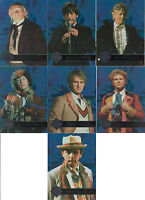 """Doctor Who Cornerstone Series 3 - """"Foil Doctors"""" Set of 7 Chase Cards #F1-7"""