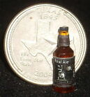 Dollhouse Miniatures Texas Brewed Beer Ale Black 1:12 Scale