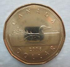 CANADA 2006 LOONIE NO MINT MARK BRILLIANT UNCIRCULATED DOLLAR