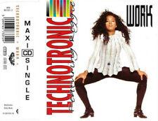 TECHNOTRONIC featuring REGGIE - Work 4TR CDM 1991 EURO HOUSE / TECHNO / RAP