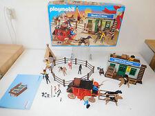 Playmobil western 4431 ovp + ba