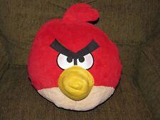 "2012 STUFFED PLUSH LARGE RED ANGRY BIRDS COMMONWEALTH ROVIO 9"" TALL 32"" ROUND"