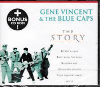 Gene Vincent & The Blue Caps - The Story / CD / NEU+OVP-SEALED!