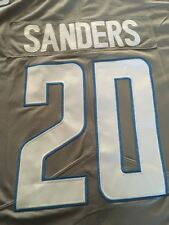 BARRY SANDERS JERSEY DETROIT LIONS XL 48 COLOR RUSH