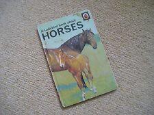 LADYBIRD - series 682 A Book About Horses (matt 30p)