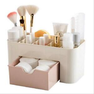 Mini Makeup Storage Box Sundries Case Cosmetic Organizer Jewelry Brush Holder