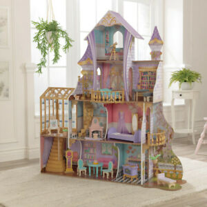 Kidkraft Enchanted Greenhouse Castle Dollhouse | Includes Accessories
