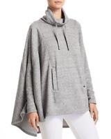 NEW UGG Women Fashion Pichot Poncho Top Sweater Coat Cape Outwear Grey