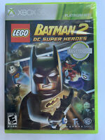LEGO Batman 2: DC Super Heroes Platinum Hits Microsoft Xbox 360 BRAND NEW SEALED