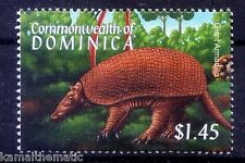 Giant Armadillo, Wild Animals, Dominica 2001 MNH