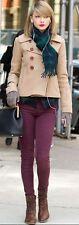 CURRENT ELLIOTT Caviglia Skinny DAHLIA VIOLA Jeans W25 UK 6/8