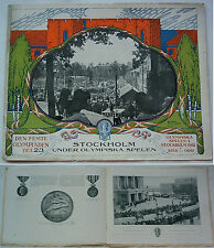Orig.PRG / Pictorial Review   Olympic Games STOCKHOLM 1912  !!  EXTREM RARE