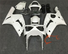 Fairing Kit Bodywork Unpainted white fit for KAWASAKI Ninja 636 ZX-6R 2003 2004