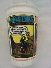 MASTERS OF THE UNIVERSE / HE-MAN 1985 BURGER KING / PEPSI PLASTIC DRINKING CUP