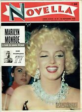 MARILYN MONROE Cover Magazine 1958 Italy Vintage Weekly Issue Rare Sexy Novella