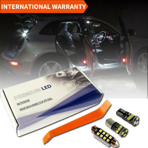 AUDI Q5 LED INTERIOR PREMIUM SET 18 SMD WHITE BULBS ERROR FREE 8R
