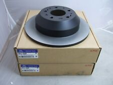Pair of Genuine Hyundai Rear Brake Discs 58411 2P000