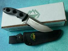 OUTDOOR EDGE Hybrid Hunter Knife - NEW Seki Japan AUS-8 Drop Point Blade Hunting