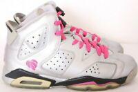 Nike 543390-009 Jordan 6 VI Retro Valentines Shoes Girl's 6Y (Women's 7.5)