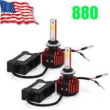 2018 Upgrade 880 300W 48000LM 2-Side LED Headlight Kit Hi/lo Beam HID 6000K Bulb