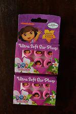 (6-PACK) Dora the Explorer Aqua Ears Soft Silicone Ear Plugs