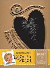 Leonie Pujol Photopolymer A6 Stamp - Folk Art Fun