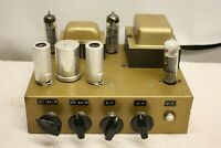 VALVE TUBE POWER AMPLIFIER MULLARD M8137 BRIMAR 12AX7 PINNACLE EL84 HUNTER