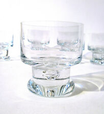 "5x Glas Sektschale Ichendorf ""Orion"" 70s champagne cup space age glass annees 70"