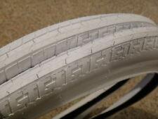 GT Bmx Tires WHITE Old School Detour PFT Interceptor NOS