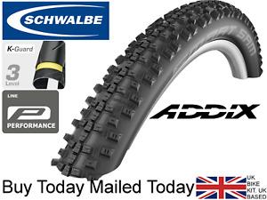 2020 Schwalbe Smart Sam Addix 26 27.5 28 29 x 2.1 2.25 1.75 1.6 Cross MTB Tyres