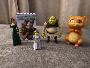 Shrek Dreamworks Toy Figures & Collectable Block Puzzle McDonalds