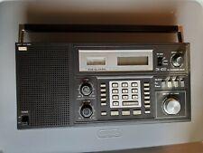vintage REALISTIC DX-400 AM/FM DIRECT ENTRY COMMUNICATION RADIO RECEIVER works!