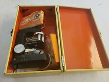 Vintage Collectible 1972 Gilbert Microcraft Microscope Lens Light Slides