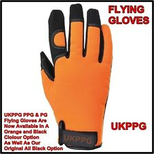 Flying gants paramoteur parapente minutieusement plané HANGLIDING large orange