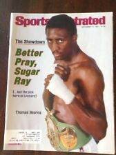 September 14 1981 Thomas Hearns Welterweight Boxing Sports Illustrated Magazine