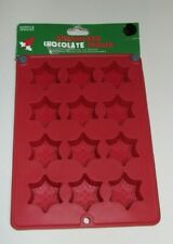 SILICONE 12 SMALL SNOWFLAKE CHOCOLATE  MOULDS NEW WITH TAGS FROM MARKS & SPENCER
