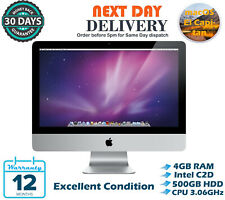 "Apple iMac 21.5"" Intel Core 2 Duo 3.06GHz 4GB RAM 500GB HDD El Capitan A Grade"