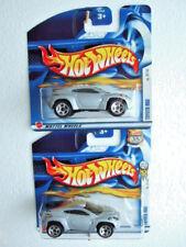 2x HotWheels 2002 FE27/42  #039 Toyota RSC, on diff. short card,