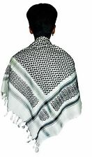 MEN MUSLIM  SHEMAGH-ARAB-SCARF-SQUARE-KEFFIYEH--ISLAMIC-CAFIA-NAMAZ HATS STOLE