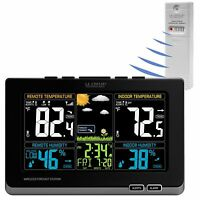 308-1414MB La Crosse Technology Wireless Color Weather Station with TX141TH-BV2